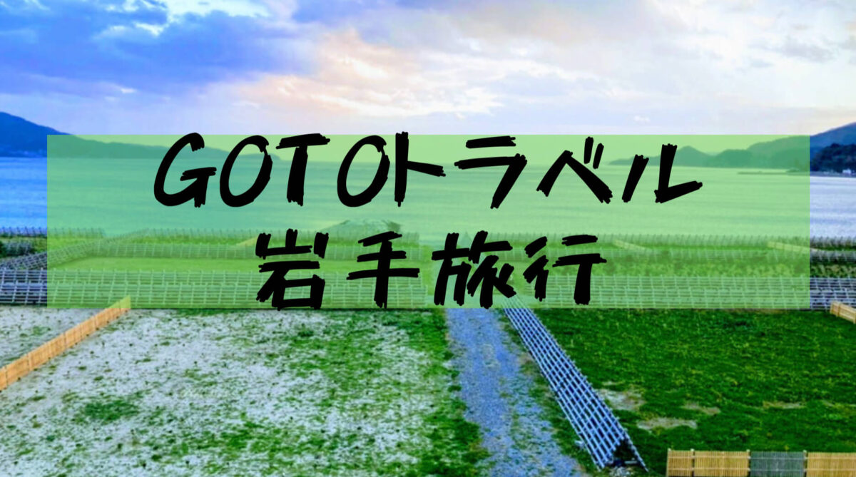 【岩手観光旅行】GoToで岩手県に行ってきた(中尊寺金色堂、竜泉洞、猊鼻渓、青の洞窟など)
